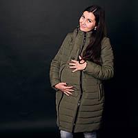 Зимняя слингокуртка 3 в 1 цвета хаки