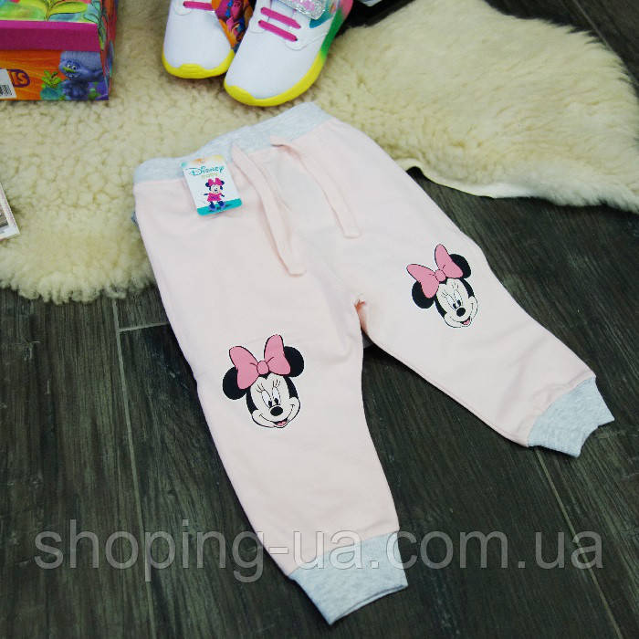 Штанишки для девочки розовые Minnie Mouse Disney HD0081-86p