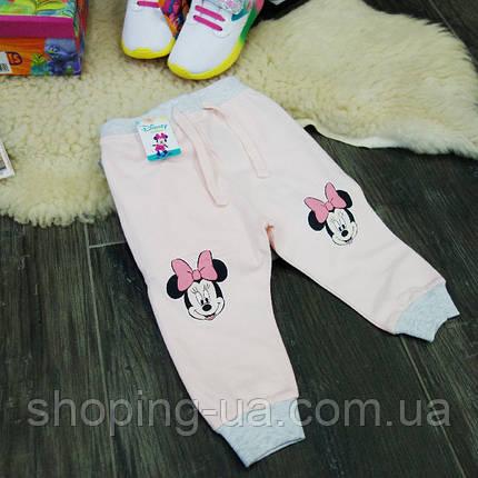 Штанишки для девочки розовые Minnie Mouse Disney HD0081-86p, фото 2
