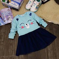 Детское нарядное платье котик PD0072-92p