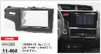 Переходная рамка CARAV 11-468 2 DIN (Honda Fit, Jazz)