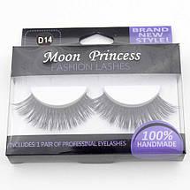 Норковые накладные ресницы Moon Princess D14, фото 3