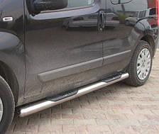 Подножки, Трубы на Peugeot Bipper (c 2008---) Пежо Биппер PRS