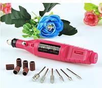 Фрезер-ручка для маникюра Mini 18000 об/мин. Красный