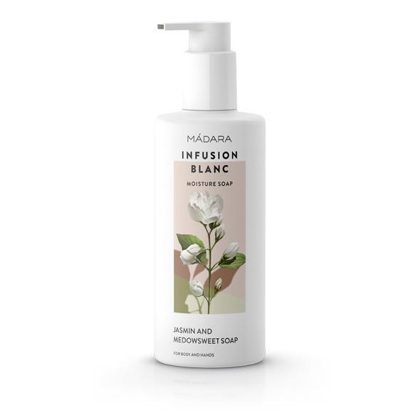 Увлажняющее мыло для тела и рук Infusion Blanc  Mádara