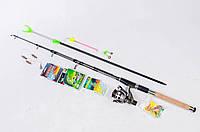 Комплект рыболовный Спиннинг Apache Navigators в сборе +подарок! 2.40 м
