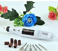 Фрезер-ручка для маникюра Mini 18000 об/мин. Белый