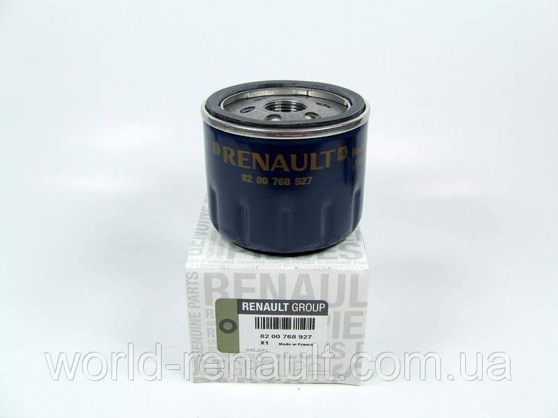 Renault (Original) 8200768927 - Масляный фильтр на Рено Меган 3, Рено Флюенс 1.5dci