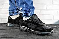 Черные кроссовки Adidas мужские р.41,42,43,44,45,46