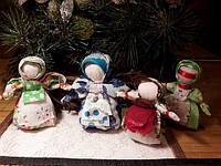Проведение мастер-класса(изготовление куклы-травницы)
