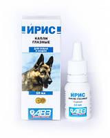 Ирис капли глазные для собак и кошек, 10 мл