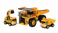 Набор машинок Same Toy Builder Карьерная техника (R1807Ut)
