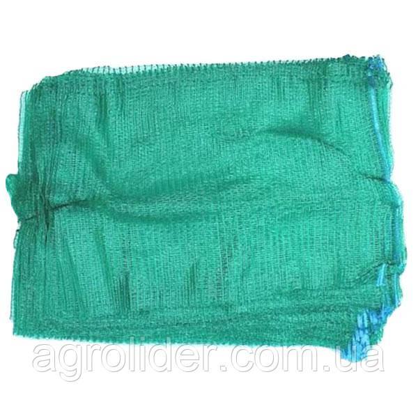 Сетка-мешок овощная 40х60 (до 20 кг) Зеленая