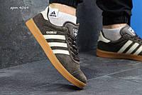 Мужские кроссовки Adidas Gazelle  адидас кроссовки коричневые - Замша, подошва: резина р: 41-46 Индонезия