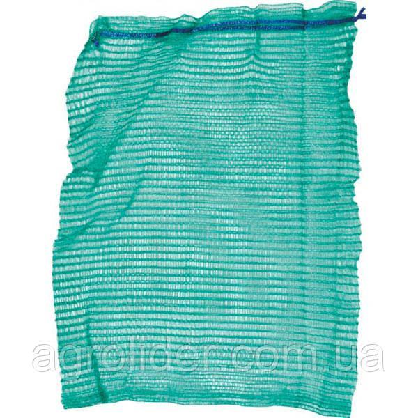 Сетка-мешок овощная 50х80 (до 40 кг) Зеленая