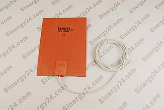 Гибкая греющая пластина 400Вт, 24В, (152х203мм), терморегулятор 90 градусов