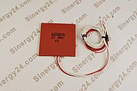 Гибкая греющая пластина 100Вт, 12В, (100х100x7мм),  без терморегулятора