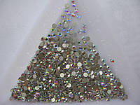 Стразы для ногтей ss6 Crystal AB 100шт.(1,9-2,0мм)