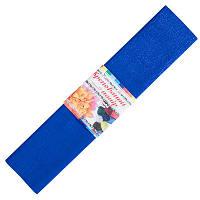 Бумага гофрированная №13, синий 50*200 см (Мицар)