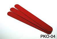 Набор одноразовых пилочек 18 см 10 шт в упаковке красные, пилка одноразовая YRE PKO-04, одноразовые пилочки