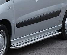 Подножки на Peugeot Expert (c 2007---) Пежо Експерт PRS