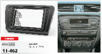Переходная рамка CARAV 11-462 2 DIN (Skoda Octavia)