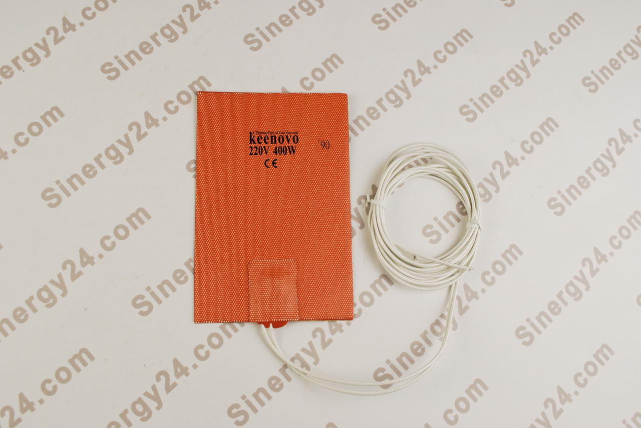 Гибкая греющая пластина 400Вт, 220В, (115х175мм), терморегулятор 90 градусов