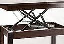Стол трансформер Флай  дуб сонома трюфель, журнально-обеденный, фото 9