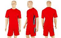 Футбольная форма Aspiration  (р-р M-XXL, красный, шорты красные), фото 1
