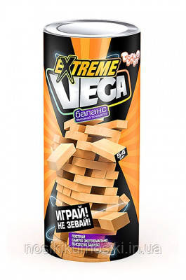 Настольная игра Джанга Дженга Vega Extreme Данко