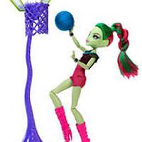 Кукла Монстер Хай Венера Мухоловка чемпионат по баскетболу Monster high Venus Mcflytrap Casketball champ