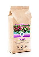 """Кофе зерновой """"Grand"""" Бленд арабики 80% и робусты 20% 1 кг."""