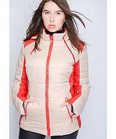 """Женская куртка """"Красотка"""" до 64 размера"""
