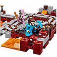 """Конструктор Bela Minecraft """"Подземная железная дорога"""" арт. 10620, фото 5"""