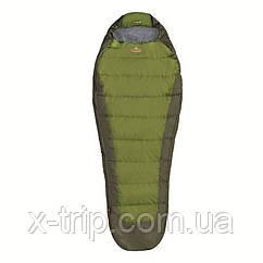 Летний спальный мешок Pinguin Tramp 195, Khaki, Левая