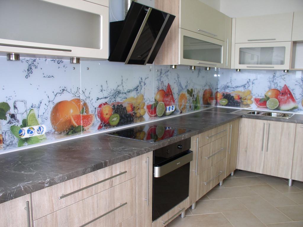 Наши работы по кухонным фартукам