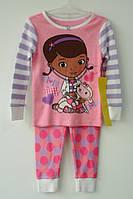 "Пижама для девочки 2 года ""Доктор Плюш"" Disney"