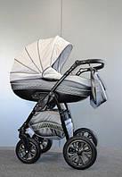 Универсальная коляска 2 в 1 Ajax Group Pride, серый+маталлик (98/16)