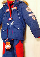 Зимний комбинезон для мальчика CANADA, размер 30-32