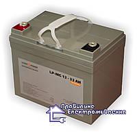 Акумуляторна батарея LogicPower LPM–MG 33 AH, фото 1