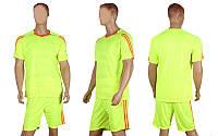 Футбольная форма Champion  (PL, р-р M-XL, салатовый, шорты салатовые), фото 1