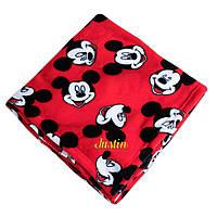 """Детский плюшевый плед """"Микки Маус"""" Disney, фото 1"""