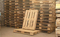 Поддон 1 - 2 сорт б/у разных размеров деревянный
