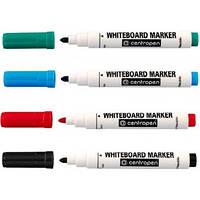 Набор маркеров для сухостираемой доски (4 цвета) Чехия Centropen