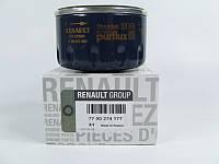 Масляный фильтр на Рено Меган 3, Рено Флюенс 1.6i 16V K4M/ Renault Original 7700274177