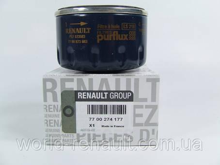 Renault Original 7700274177 - Масляный фильтр на Рено Меган 3, Рено Флюенс 1.6i 16V K4M, фото 2