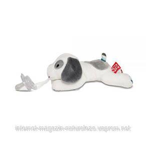 Держатель для пустышки ТМ Zazu мягкая игрушка Dexy, фото 2