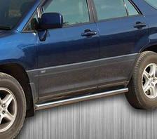 Подножки, Трубы на Lexus RX (1997-2003) Лексус РХ