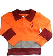 Кофта с длинным рукавом ТМ Niso Baby 1225o оранжевый 92