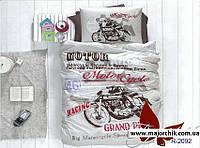 1,5 спальное подростковое постельное белье Мотоцикл